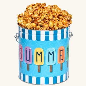 Johnson's Popcorn 1 Gallon Summer Fun Tin