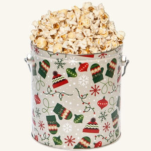 Johnson's Popcorn 1 Gallon Bundled Up Tin-Butter