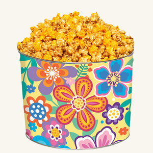 Johnson's 2 Gallon Vivid Flower Tin