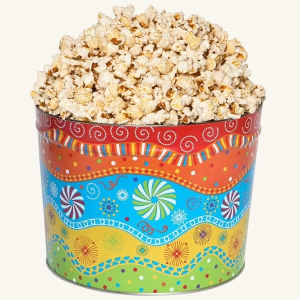 Johnson's Popcorn 2 Gallon Panache Tin-Butter