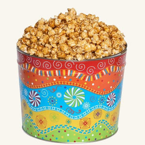 Johnson's Popcorn 2 Gallon Panache Tin-Caramel