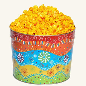 Johnson's Popcorn 2 Gallon Panache Tin-Cheddar Cheese