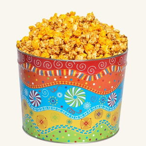 Johnson's Popcorn 2 Gallon Panache Tin