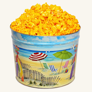 Johnson's Popcorn 2 Gallon Fun in the Sun Tin
