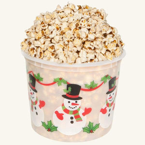 Johnson's Popcorn Large Happy Holidays Tub-Butter