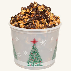 Johnson's Popcorn Large Merry Christmas Tub