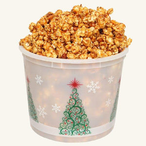 Johnson's Popcorn Large Merry Christmas Tub-Peanut Crunch