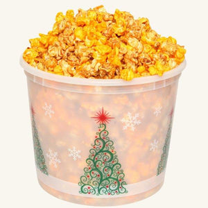 Johnson's Popcorn Large Merry Christmas Tub-Salty-n-Sandy