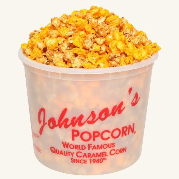 Johnson's Popcorn Large Salty-n-Sandy Tub