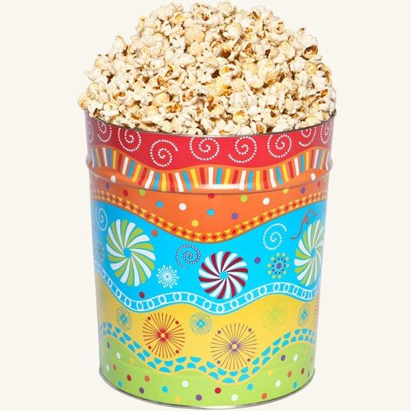 Johnson's Popcorn 3.5 Gallon Panache Tin-Butter