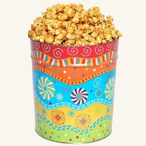 Johnson's Popcorn 3.5 Gallon Panache Tin-Caramel