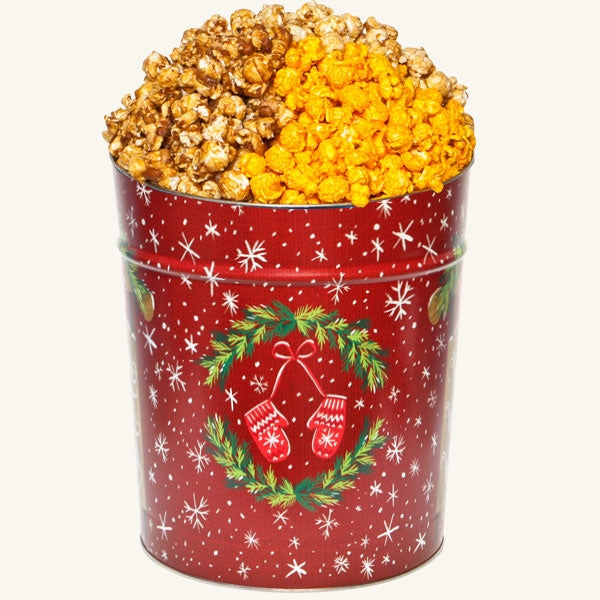 Tri Flavor 3.5 Gallon Warm Winter Wishes Tin