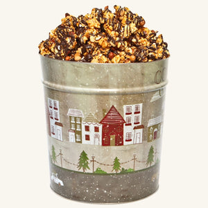 Johnson's Popcorn 3.5 Gallon Cozy Christmas Tin