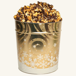 Johnson's 3.5 Gallon Swirling Snow Tin-Chocolate Drizzle