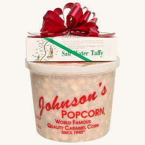 Johnson's Popcorn & Shrivers Combo