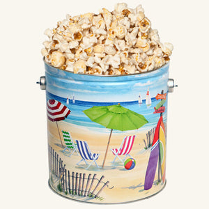 Johnson's Popcorn 1 Gallon Fun in the Sun Tin