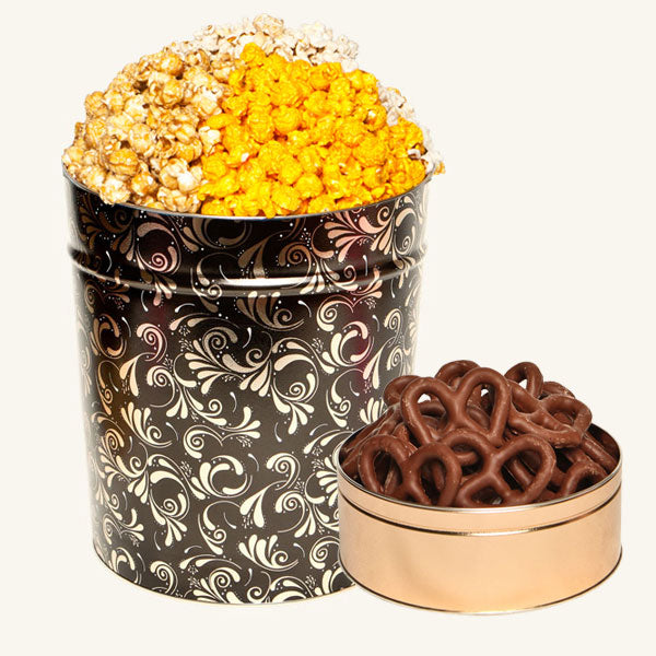 Johnson's Popcorn Signature Gift Tower