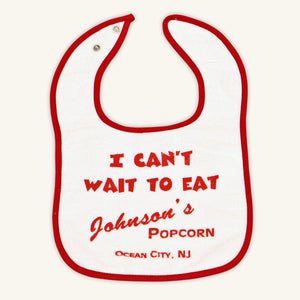 Johnson's Popcorn Baby Bib