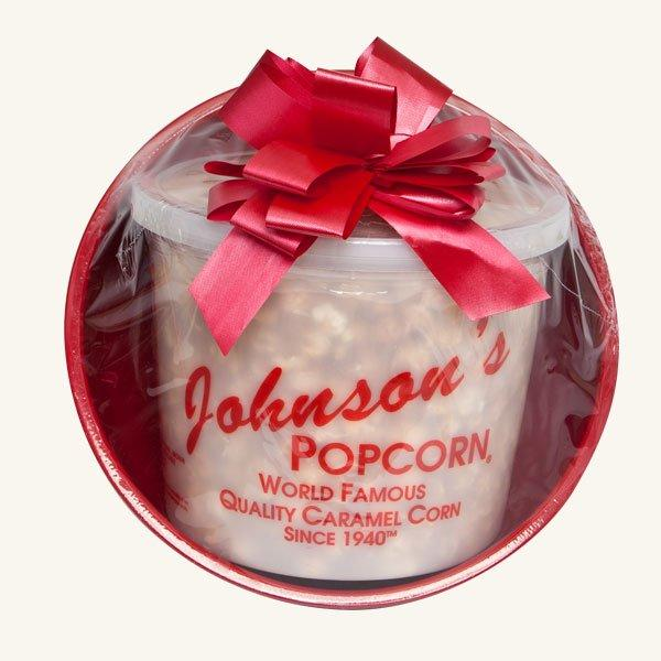 Johnson's Popcorn Small Gift Basket-Cheddar Cheese