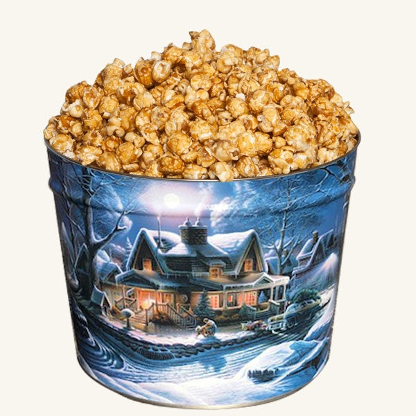 Johnson's 2 Gallon Popcorn First Homecoming Tin