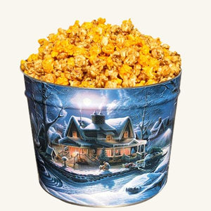 Johnson's 2 Gallon Popcorn First Homecoming Tin-Salty-n-Sandy