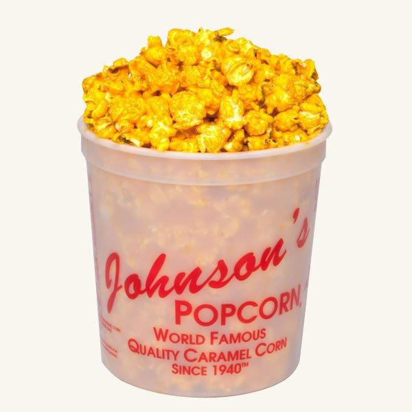 Johnson's Popcorn Small Cheddar Cheese Tub