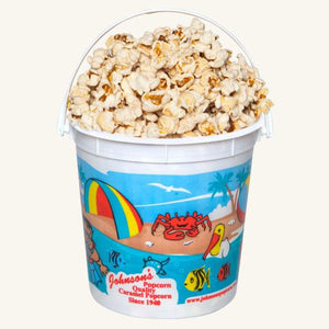 Johnson's Popcorn Small Beach Bucket-Butter