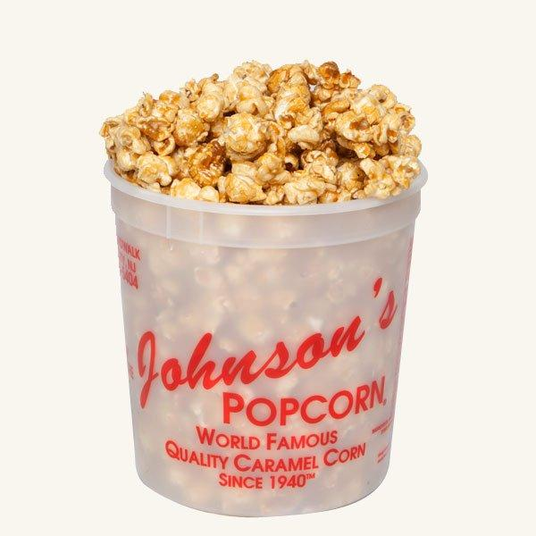 Johnson's Popcorn Small Caramel Tub