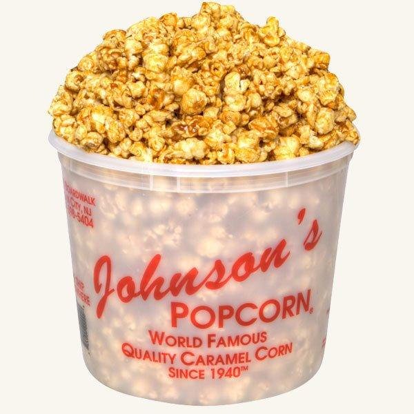Johnson's Popcorn Large Caramel Tub