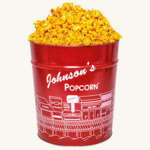 Johnson's Popcorn 3.5 Gallon Tin