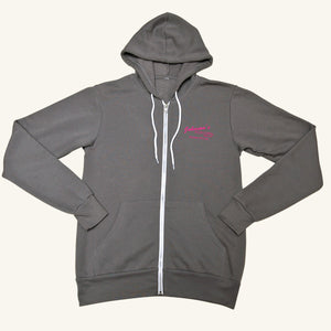 Johnson's Ladies Zip Up Sweatshirt