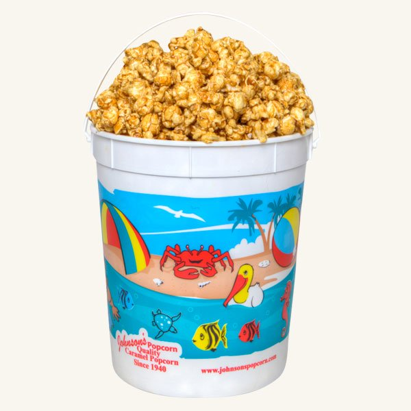 Johnson's Popcorn Large Beach Bucket