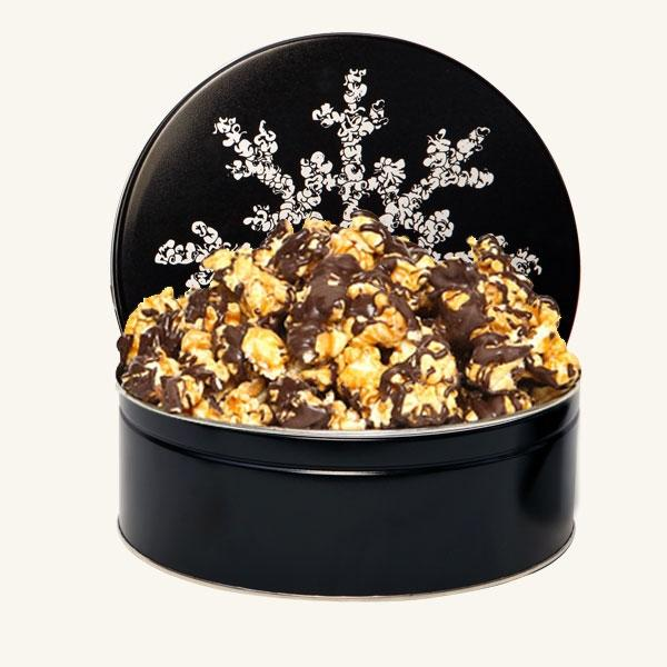 Johnson's Midnight Snowflake Tin-Chocolate Drizzle