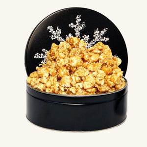 Johnson's Midnight Snowflake Tin-Caramel