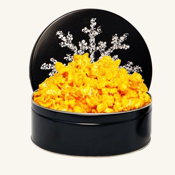 Johnson's Midnight Snowflake Tin-Cheddar Cheese