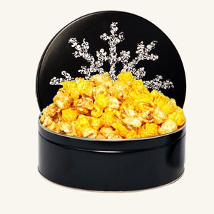Johnson's Midnight Snowflake Tin
