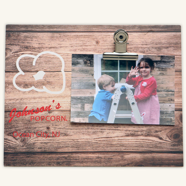 Johnson's Popcorn Picture Frame