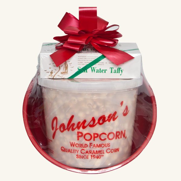 Johnson's Popcorn Medium Gift Basket