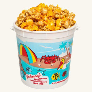 Johnson's Popcorn Small Beach Bucket-Salty-n-Sandy