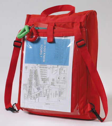 Emergency pack with trauma kit