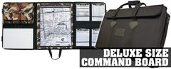 Command Board Shell comes with 2 blank dry erase boards.  (no incident command package included)