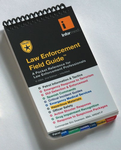 Law Enforcement pocket guide