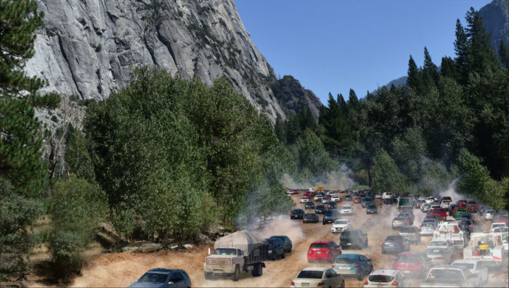 Finally... A Freeway Through Yosemite