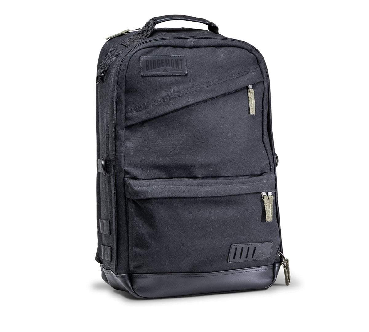 Ranger Backpack - Black/Green - Ridgemont