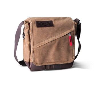 Roam Field Bag - Brown/Red - Ridgemont