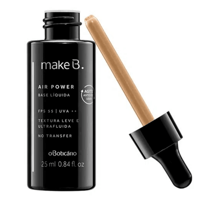 Make B. Base Líquida Air Power Beige-Claro 02