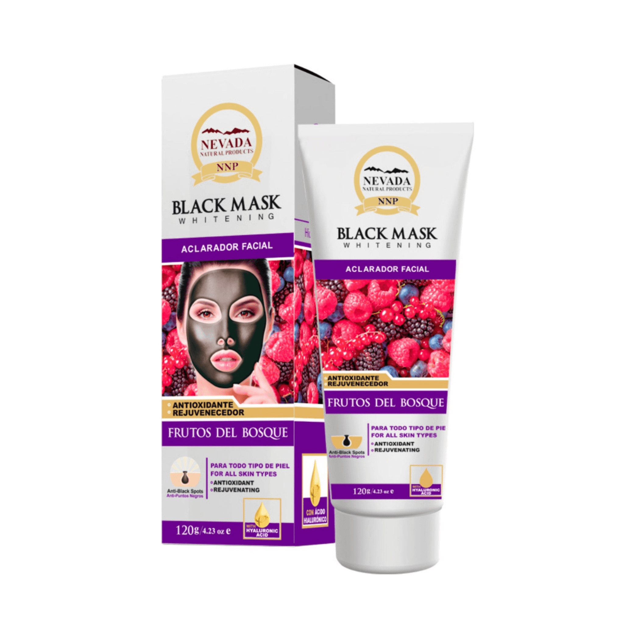 Mascarilla Black Mask Frutos del Bosque 120 gr