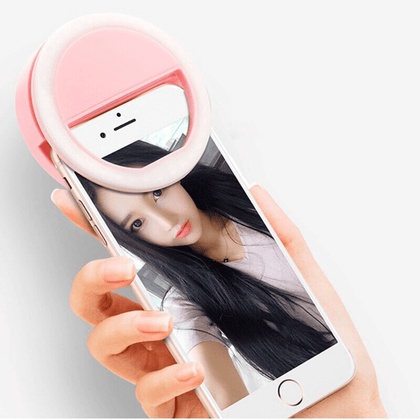 Aro de luz LED Selfie Recargable - Enjoy it Market