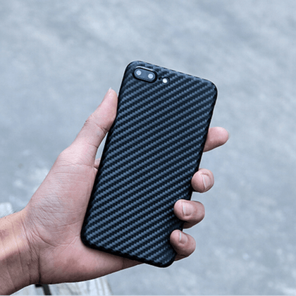 estuches de fibra de carbono iphone 7 plus en medellin