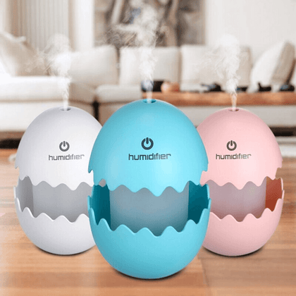 Mini Humidificador Aromaterapia Portátil Funny Egg - Enjoy it Market